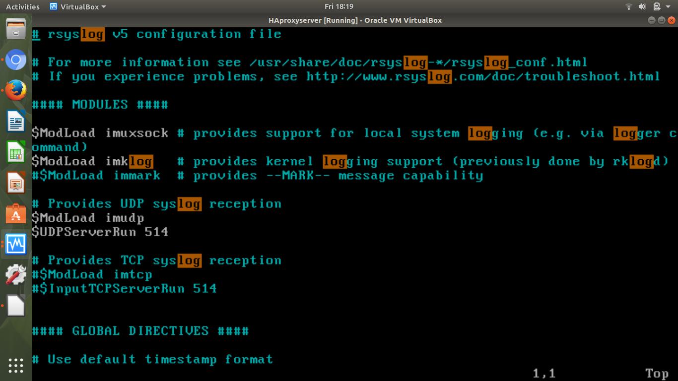 Haproxy Log Format