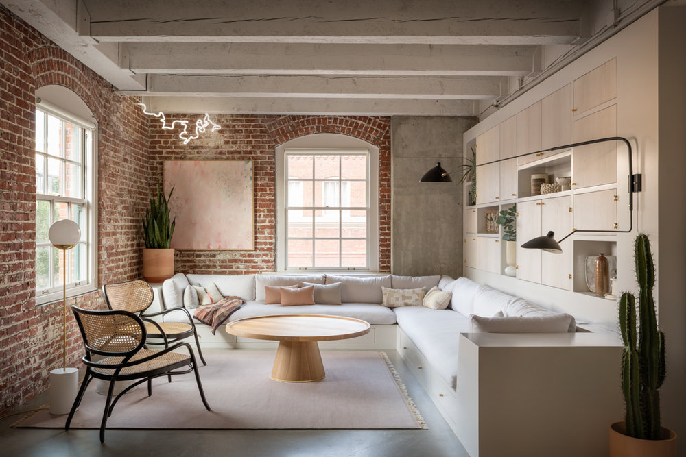 loft design interior living room