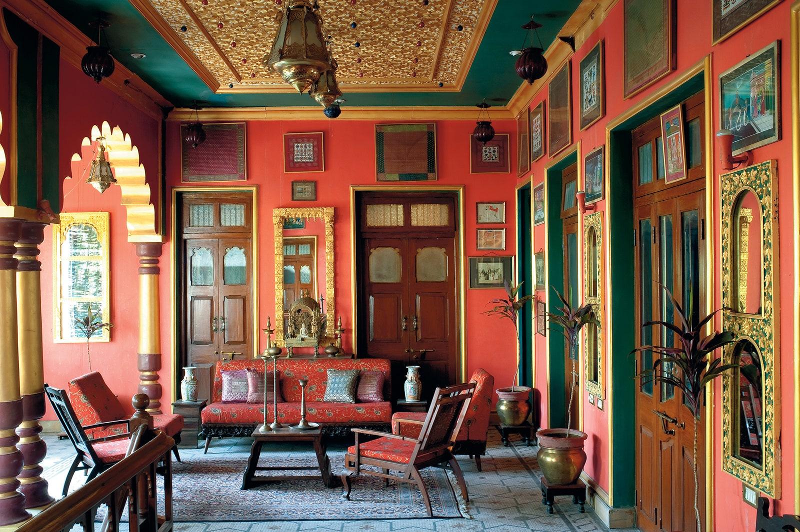 Gaya desain interior ala India – source: vogue.com