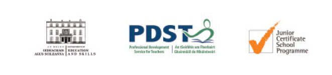 Queries? Email jcsp@pdst.ie or Telephone 01 2365000