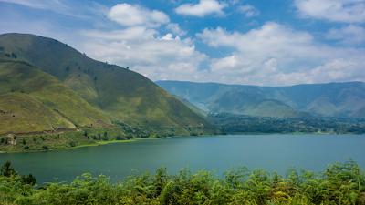 Lake Toba and Samosir Island in Sipisopiso
