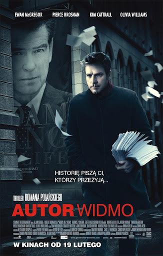Polski plakat filmu 'Autor Widmo'