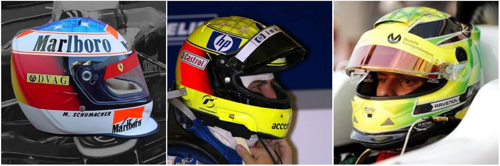 Schumacher cascos