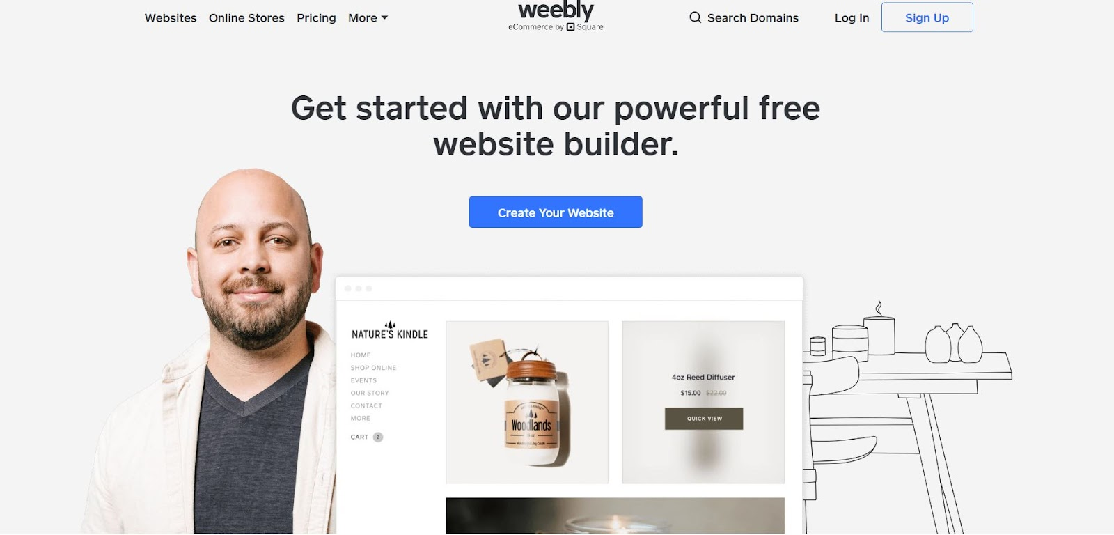 Weebly: The Top 10 Website Platforms for Woodworkers and Makers