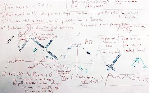 Dominic Cummings's whiteboard: The pandemic plan B decoded