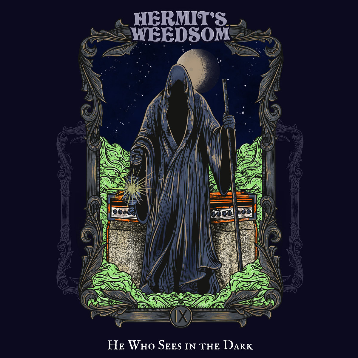 """He Who Sees In the Dark"" Album Cover"