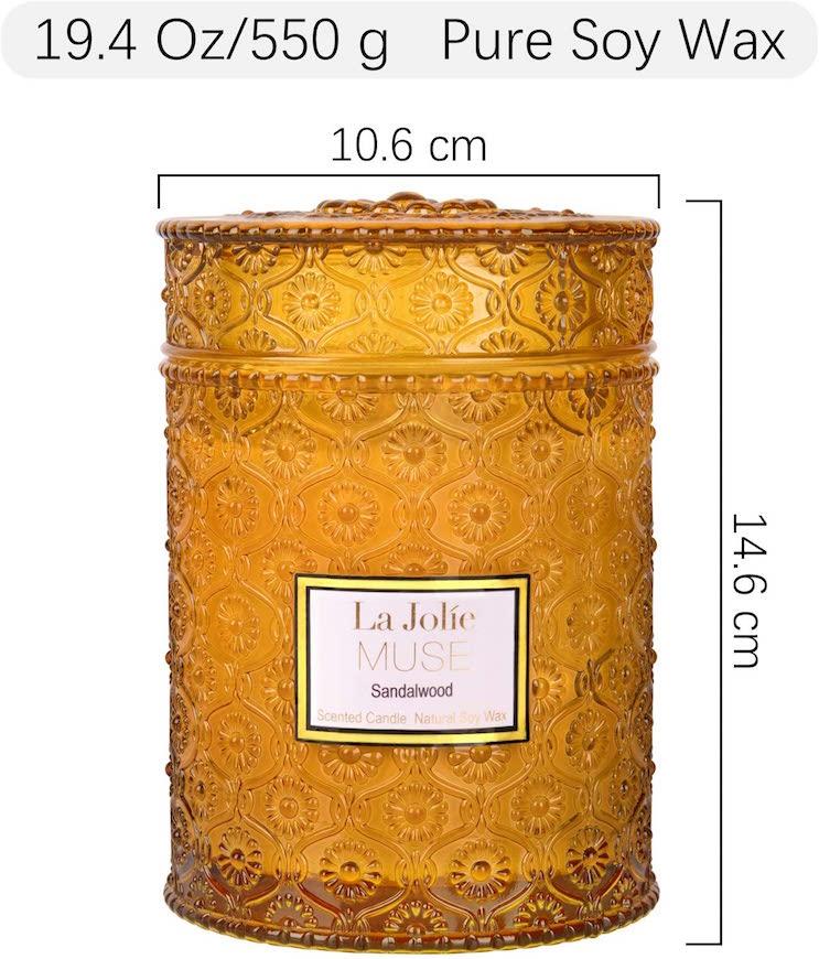 LA JOLIE MUSE アロマキャンドル 白檀の香り