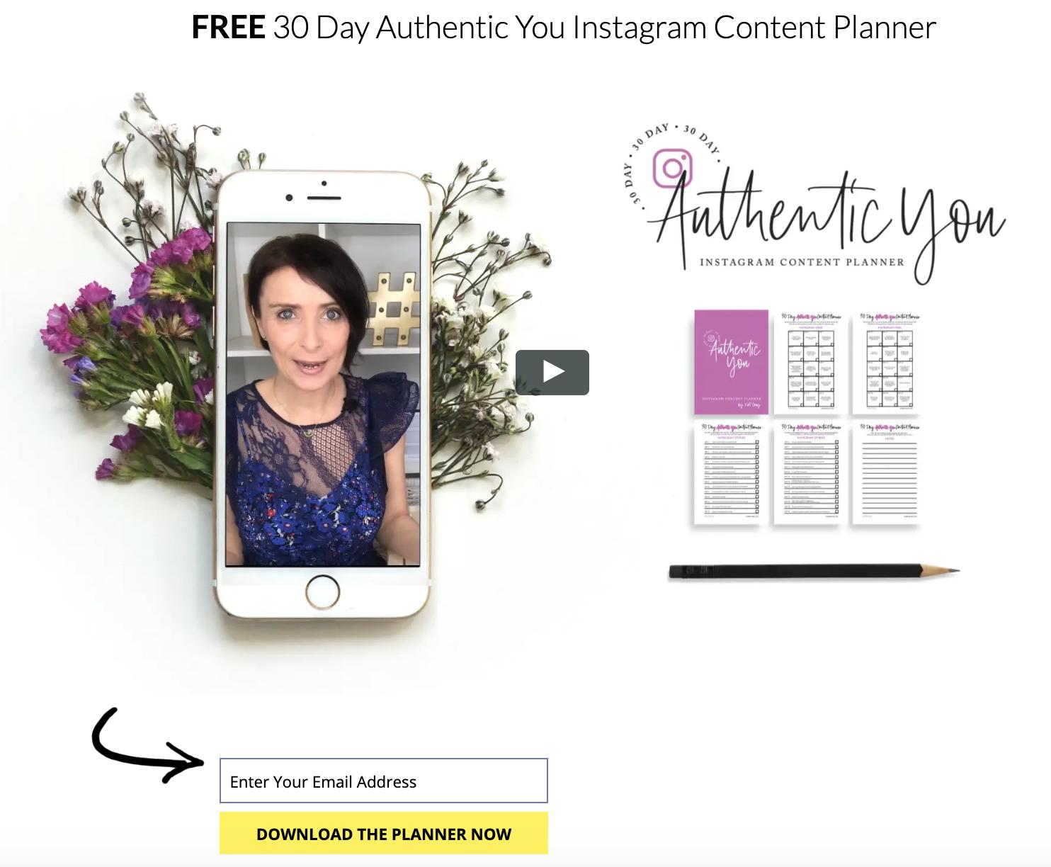 Kat Coroy - Instagram Teacher, Instagram Content Planner