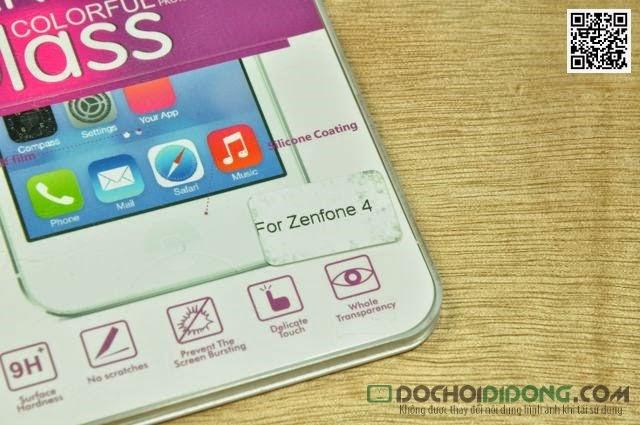 Miếng dán màn hình Asus Zenfone 4 cường lực 9H siêu cứng