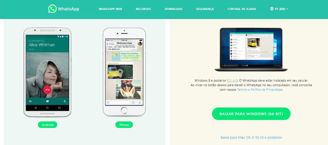 usando o aplicativo para Windows ou MAC, agora é possível fazer chamadas de vídeo no WhatsApp pelo computador