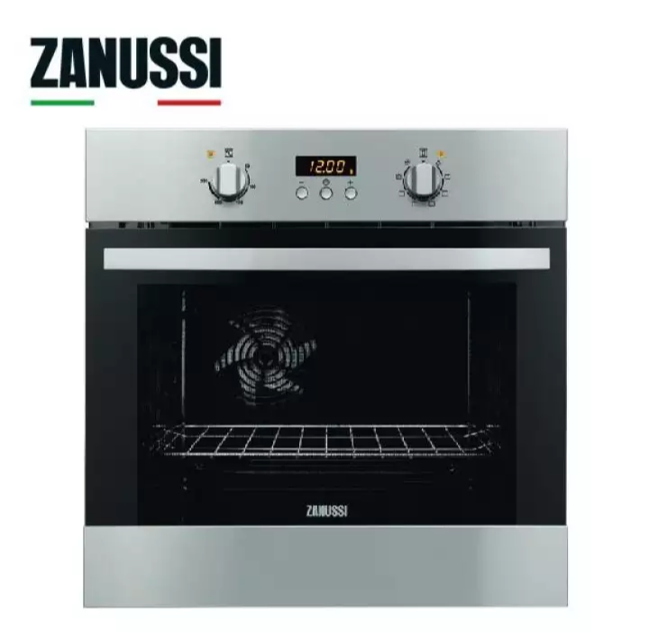 Zanussi 7 Cooking Functions Built-in Oven with hot air ZOB35809XK. Source: Lazada