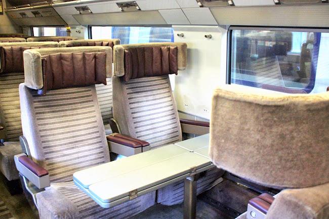 Eurostar Seats