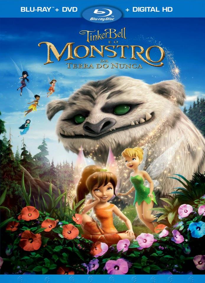 Filme Poster Tinker Bell e o Monstro da Terra do Nunca BDRip XviD Dual Audio & RMVB Dublado