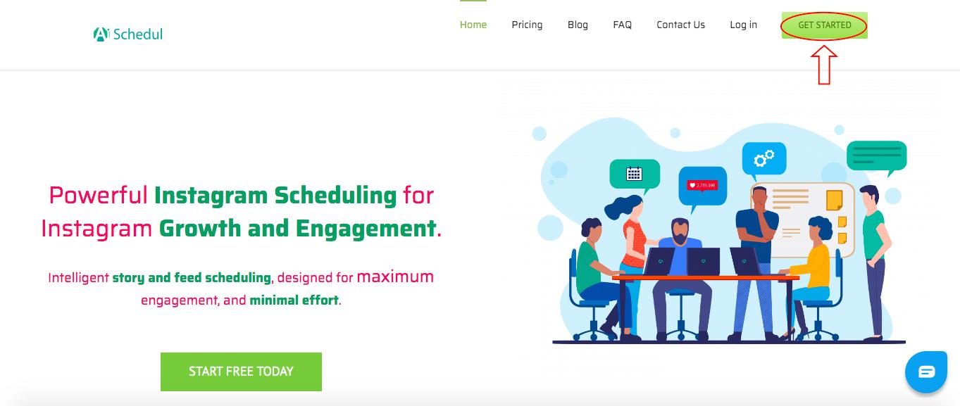 AiSchedul homepage