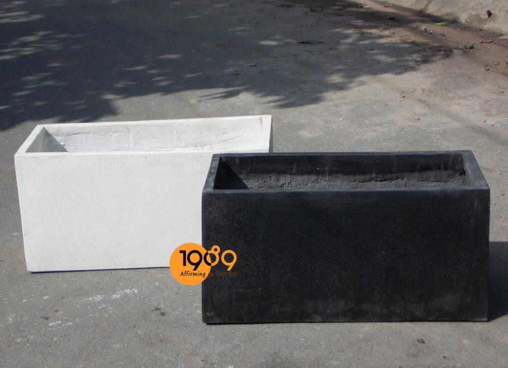 Chậu Đá Mài Chữ Nhật 40x80x40cm