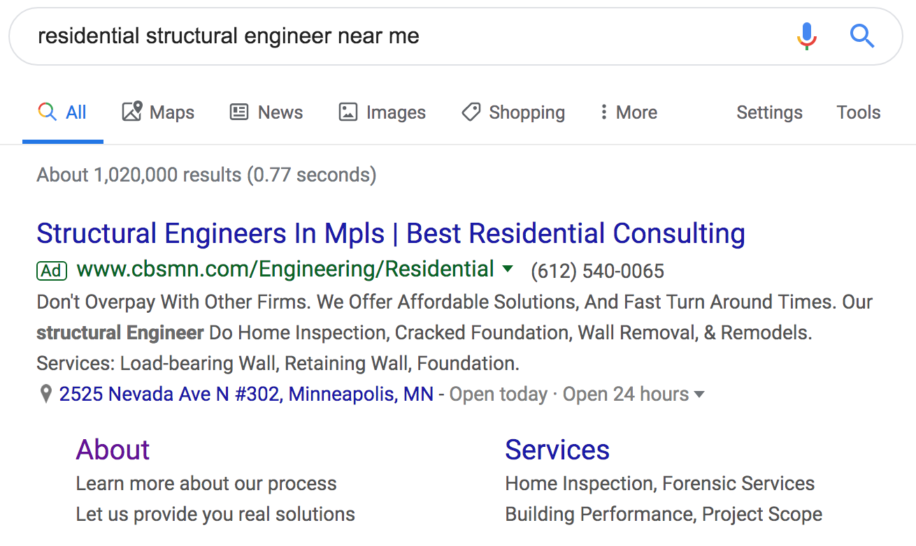 structural engineer minneapolis