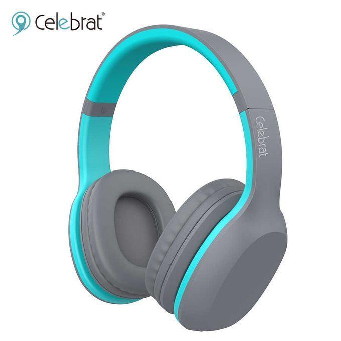 Celebrat A18 extra bass headphones