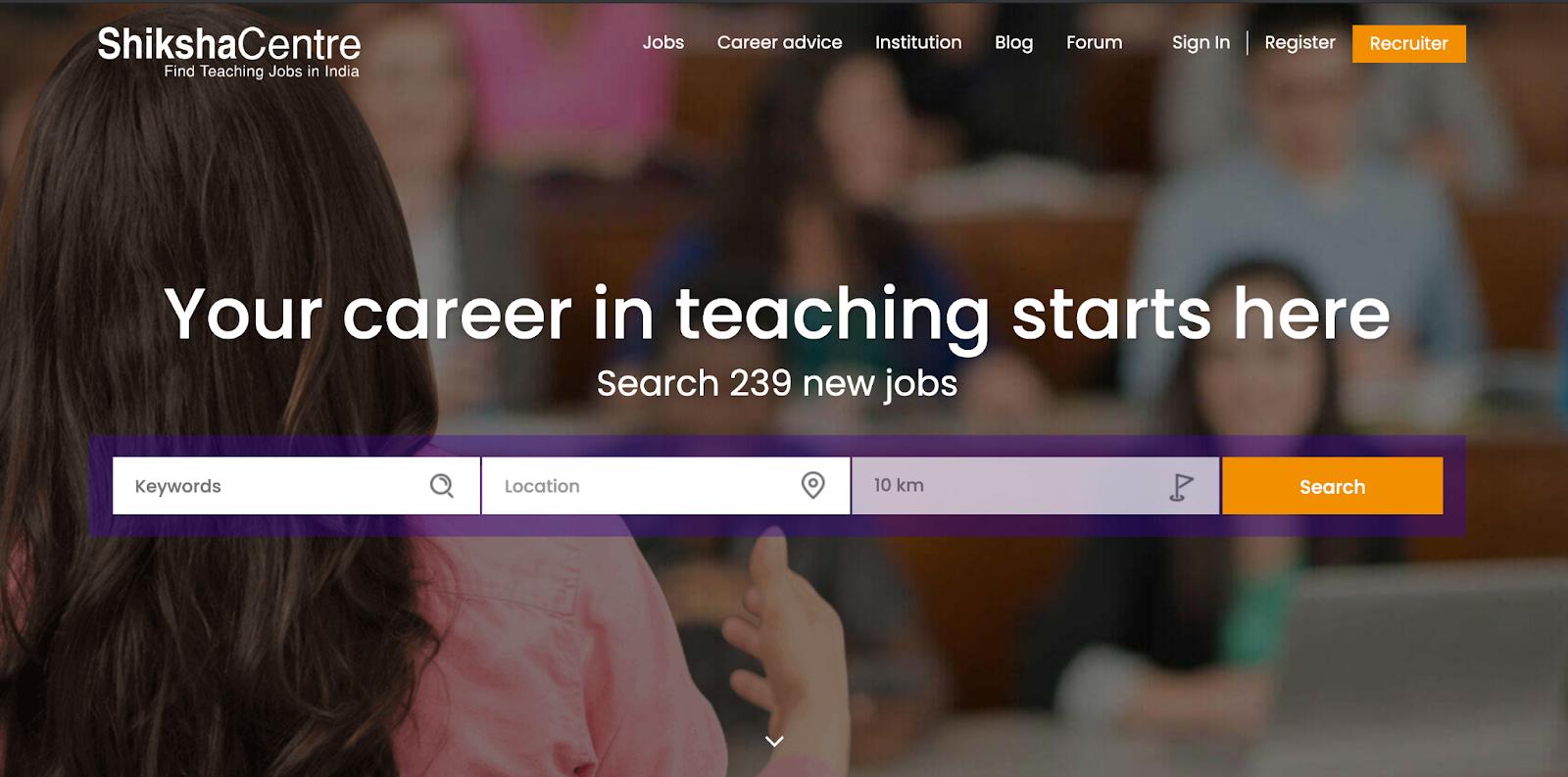 Finding teachers