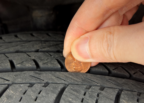 Is It Time for New Tires? Try The Penny Test
