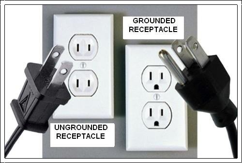 3 Prong Grounding Type Receptacles On 2 Wire Ungrounded System Ncw Home Inspections Llc