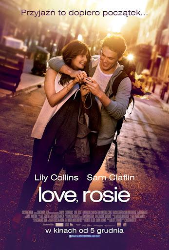 Polski plakat filmu 'Love, Rosie'