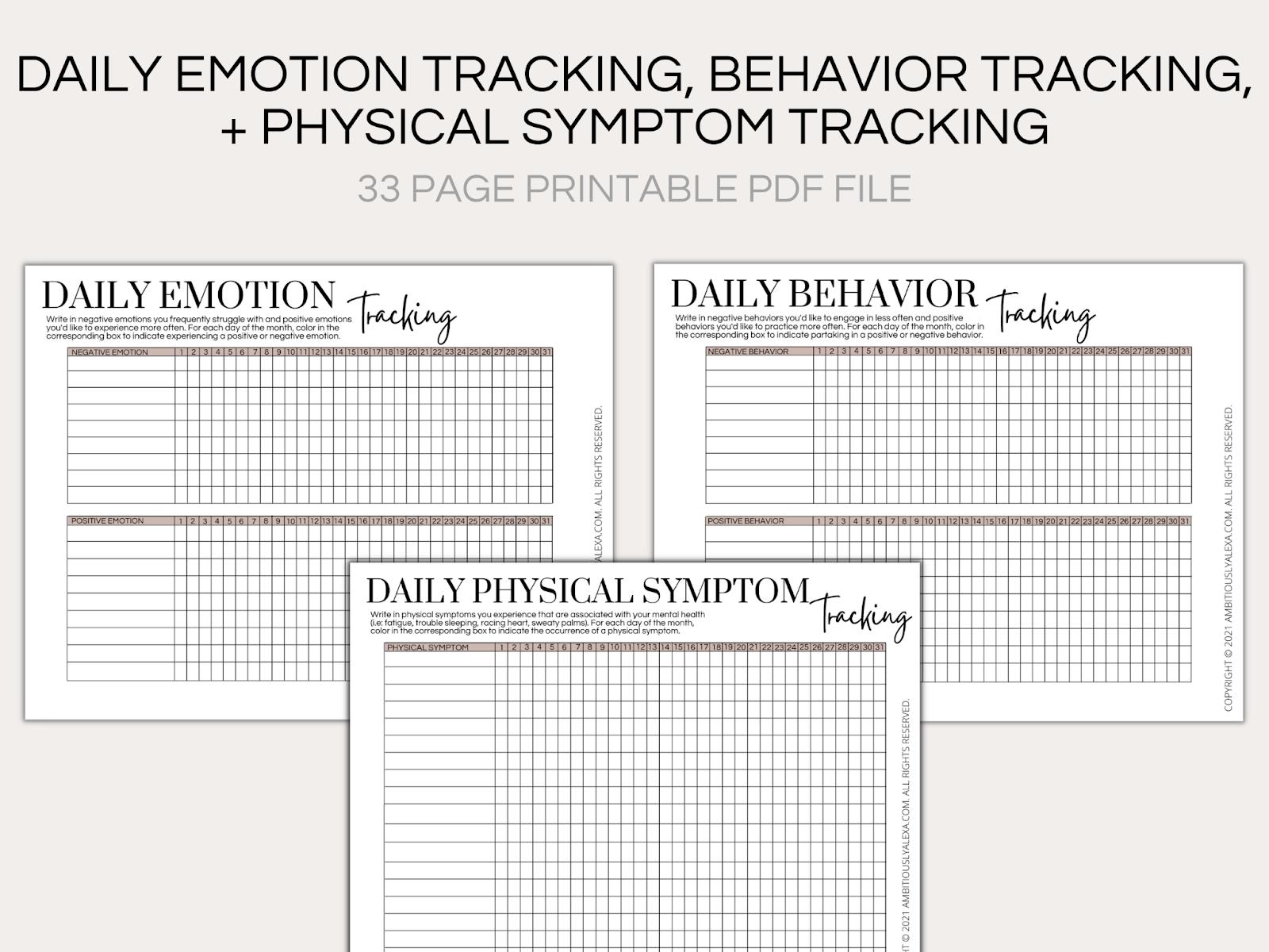 mental health journal prompts pdf