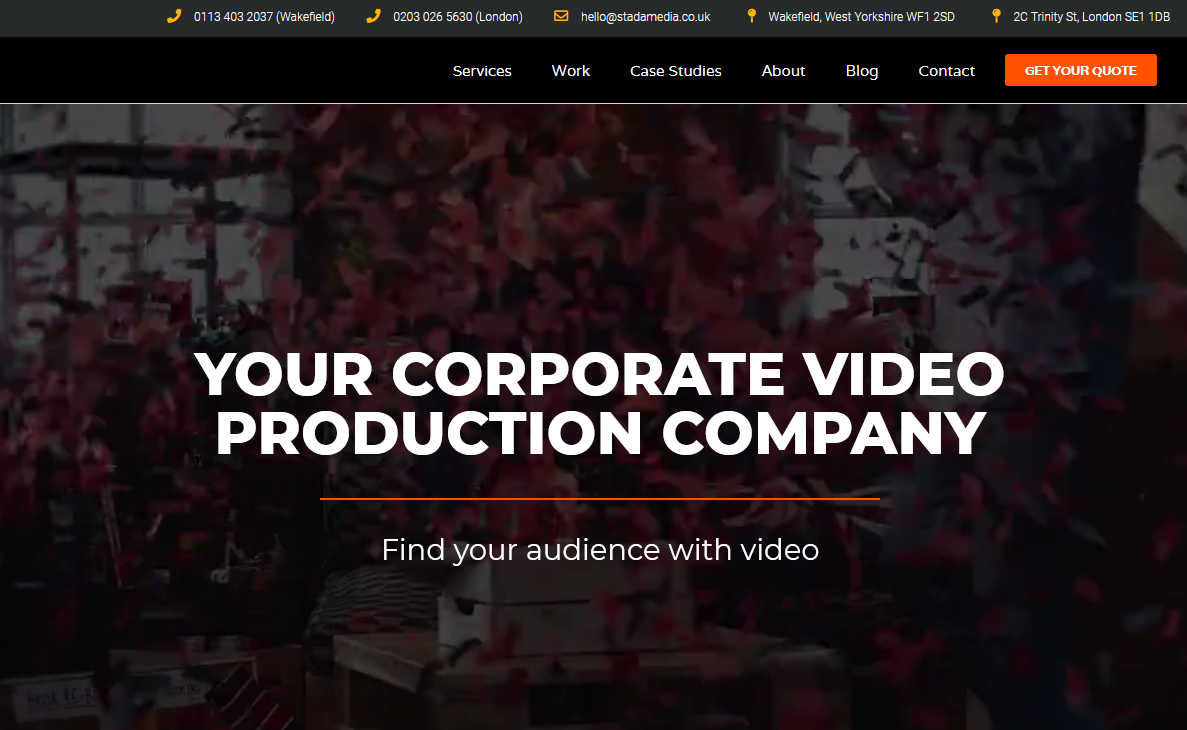 Top Yorkshire Video Production Company