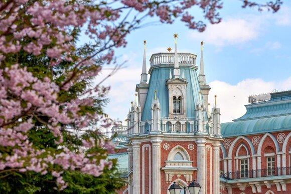 Moscow park Tsaritsyno