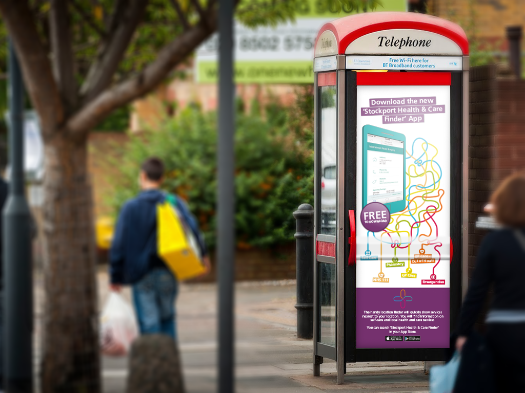 Phone boxes are everywhere and are an ideal way to capture attention no matter your location. This great long-term branding opportunity is very cost-effective.