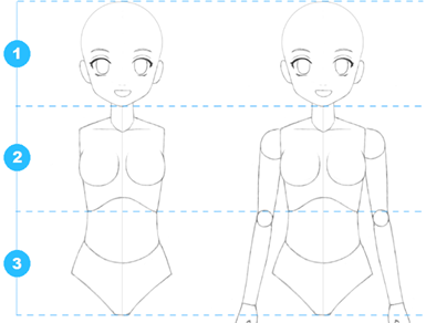 anime body