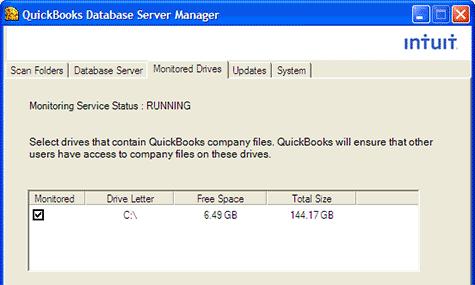 Install QuickBooks Database Server Manager