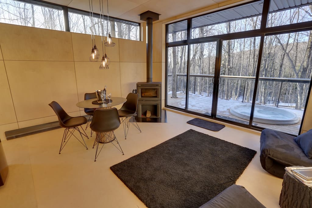 Cottages for rent with Spa for 4 people in Quebec #7