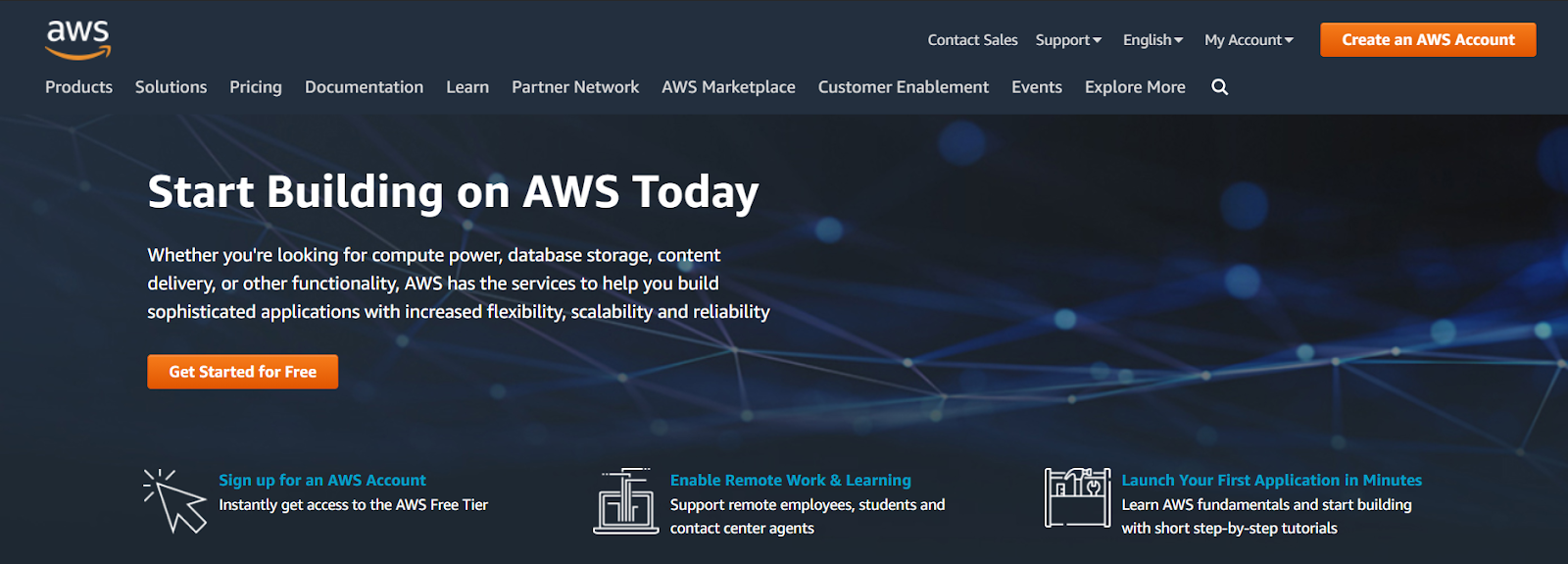 AWS is an Application As A Service