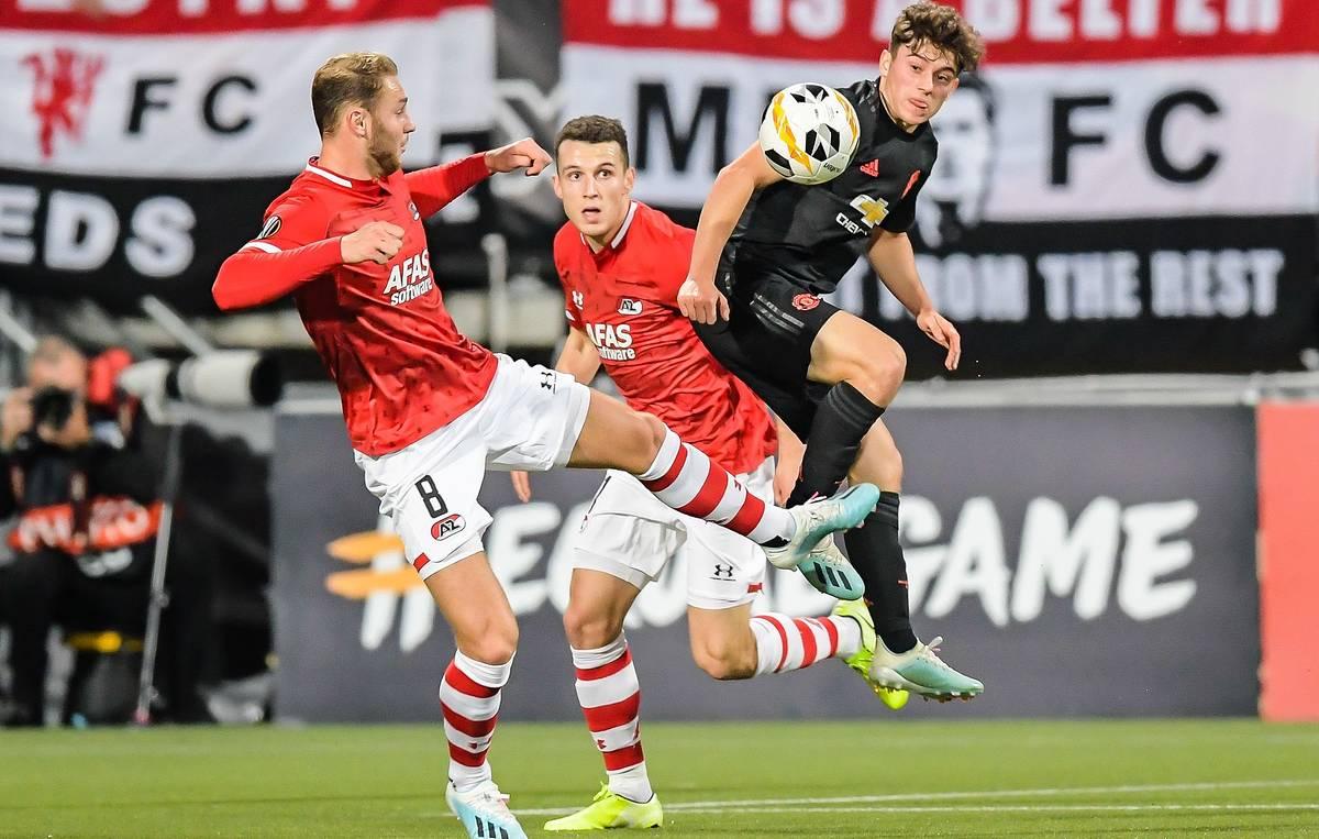 Манчестер Юнайтед - АЗ Алкмаар 4:0