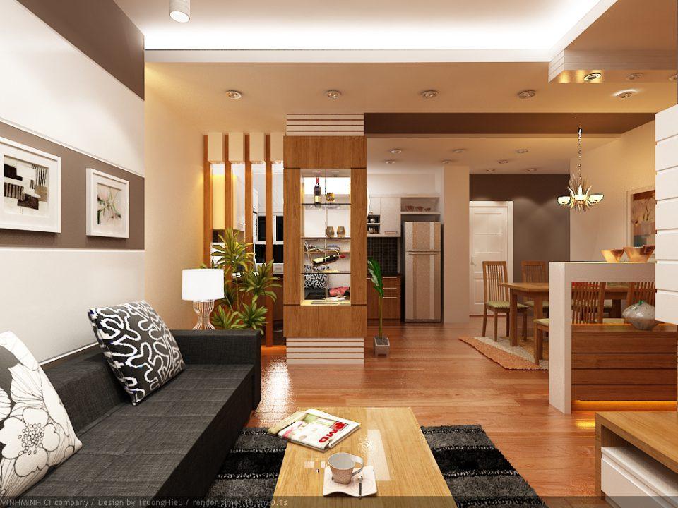 Kiểu dáng cũng là điểm lưu ý khi thiết kế nội thất chung cư