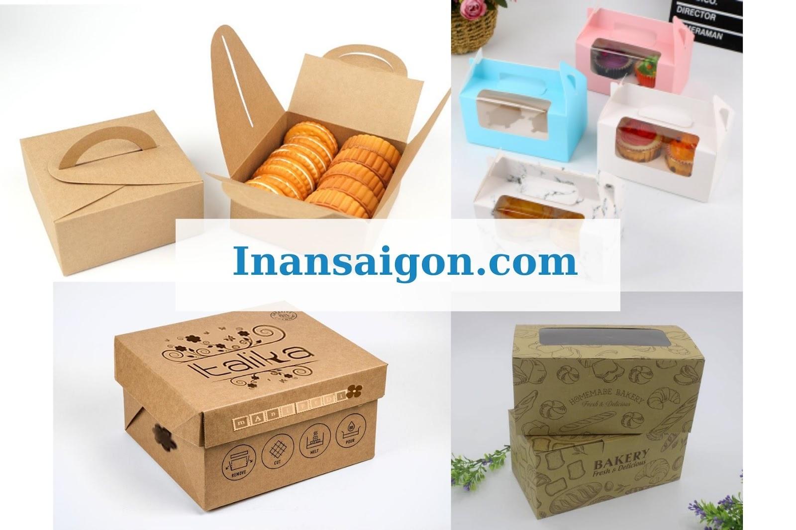 tổng hợp các mẫu hộp đựng bánh ngọt
