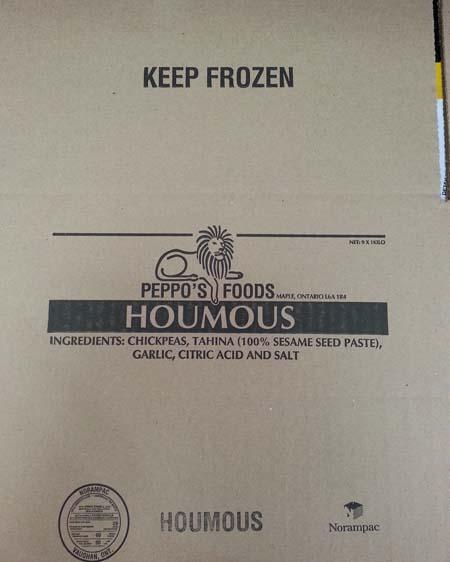 Box Houmous