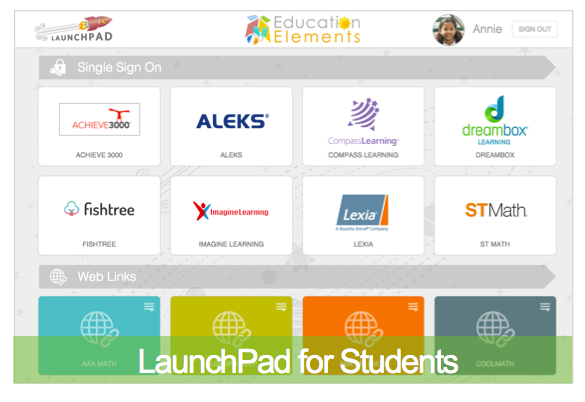 Launchpad - Personalized Learning Platform Highlight