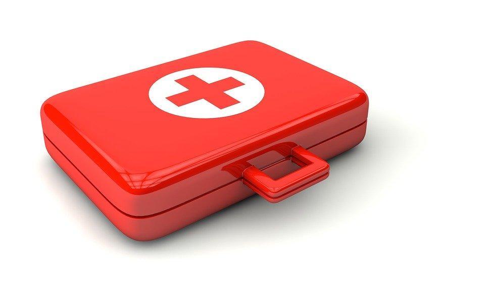 Doctor, Luggage, Verbandszeug, Patch, Association Case