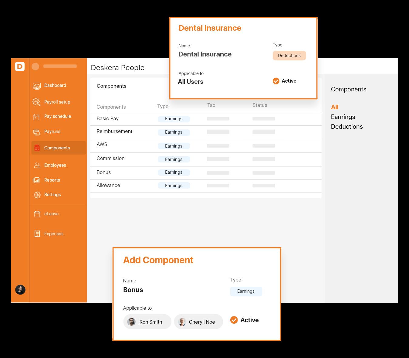 Deskera Payroll Software - Net Pay