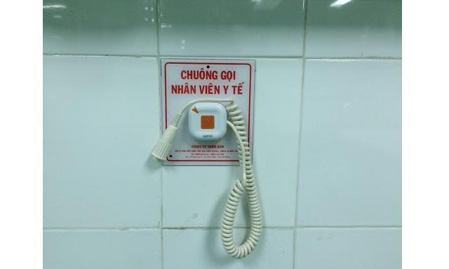 Báo gọi y tá là gì? Cấu tạo của hệ thống chuông báo gọi y tá  1