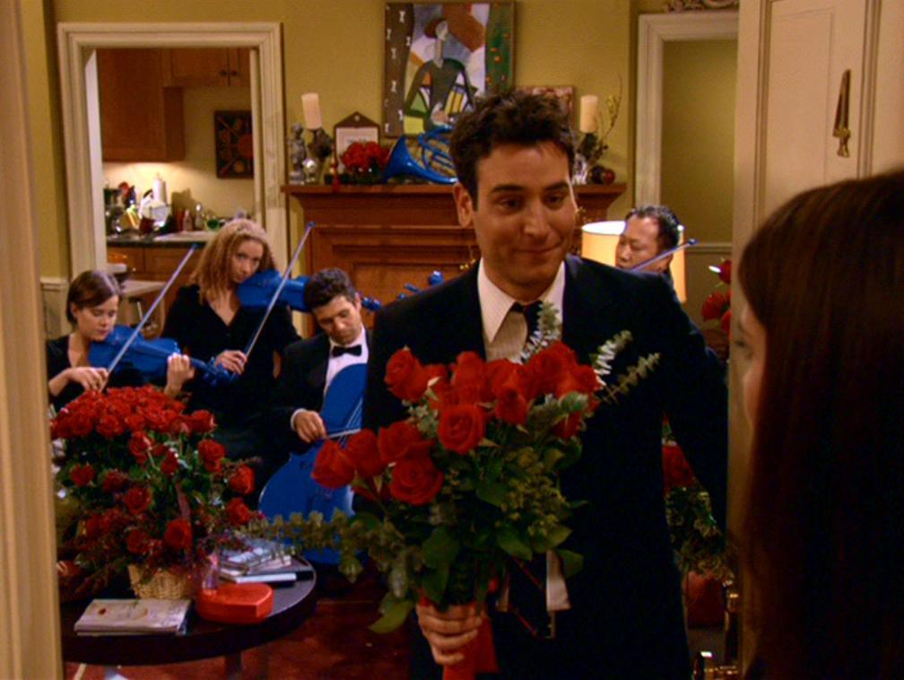 Image result for ted mosby blue french horn