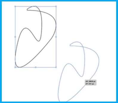 illustrator drag object