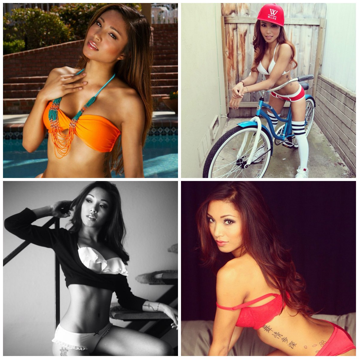 Instagram girls hottest asian on The most
