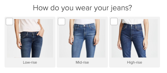 jeans question with images