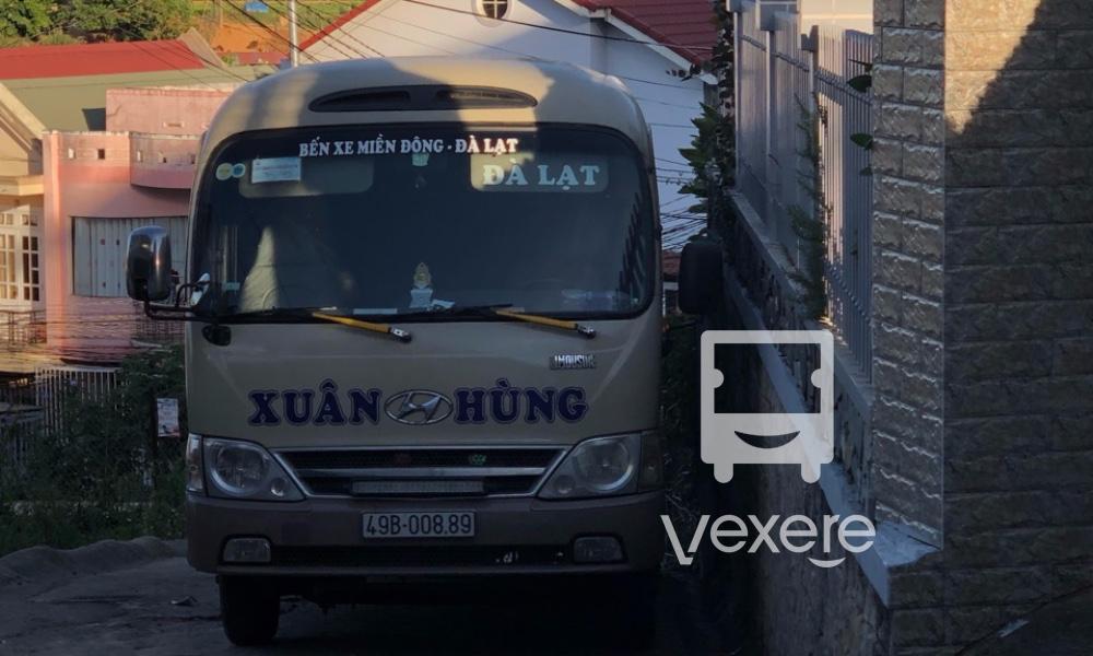 Xe ghế ngồi Xuân Hùng từ Sài Gòn đi Đà Lạt