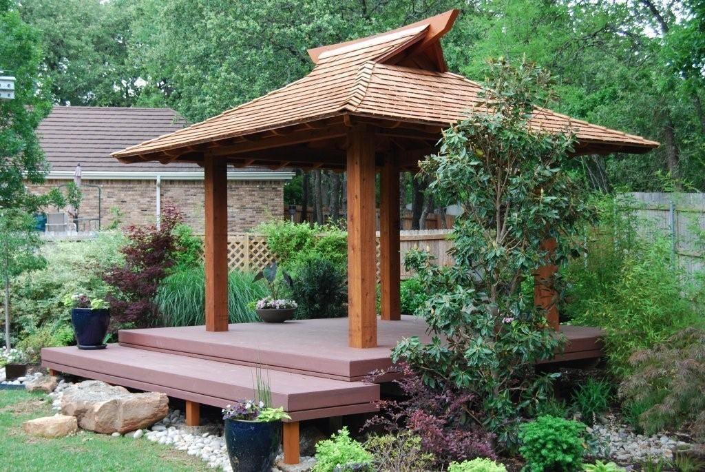 Fitur gazebo pada Zen Garden - source: pinterest.com
