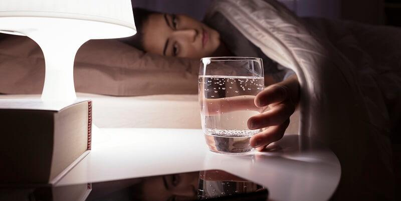 Is drinking water before bed bad for you? - Sleep MD NYC