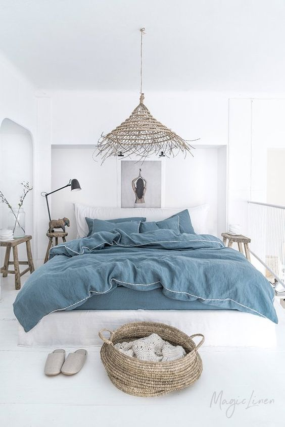 King-Sized Bed in A Tiny Master Bedroom