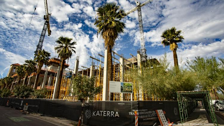 Being built by Katerra, X Phoenix, sits on 2 acres bounded by Second and Third avenues and Van Buren and Monroe streets in downtown Phoenix.